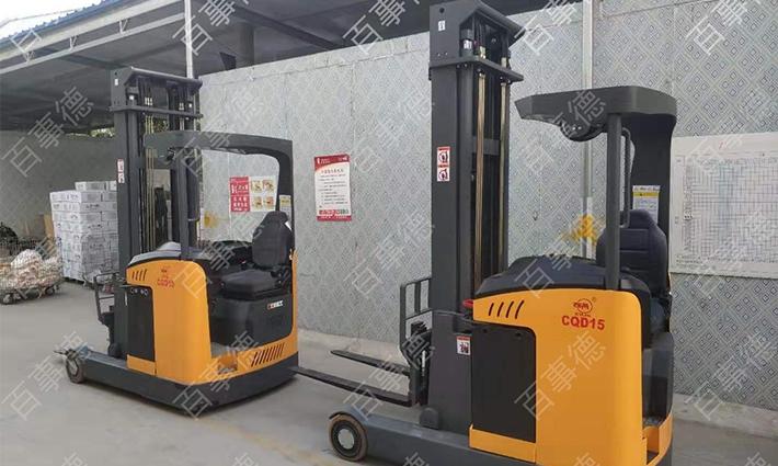 山东某食品有限公司回购前移式电动叉车两台